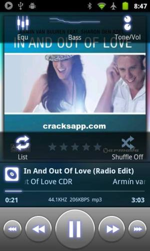 PowerAMP Pro 2.0.4 Cracked + Unlock Android Apk Download