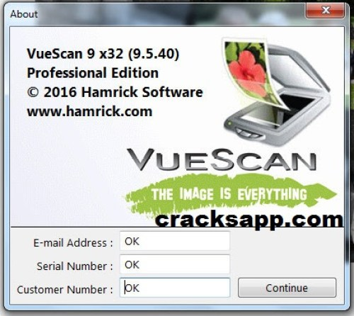 Vuescan Pro 9.5 Crack + Serial Number Generator Full Free
