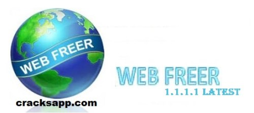 Web Freer 1.1.1.1 Crack Full Version 2016 Free Download