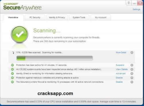Webroot Secureanywhere Antivirus 2016 Crack