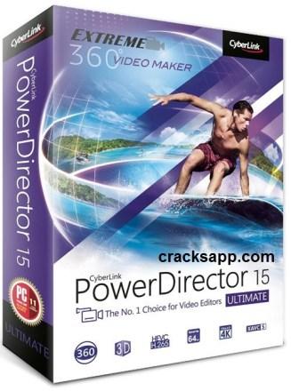 CyberLink PowerDirector 15 Ultimate Crack