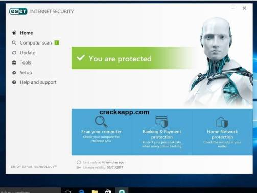 ESET Internet Security 10 Crack