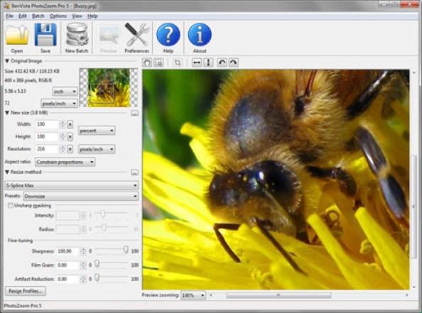 Benvista Photozoom Pro 7 Crack Plus Key Updated Download