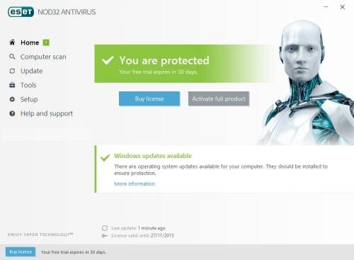 ESET Nod32 Antivirus 10 Crack