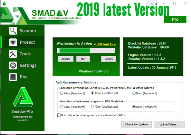 Smadav Pro 13.5 Crack with Serial Key Free Download [2020]
