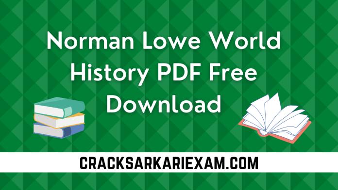 Norman Lowe World History PDF Free Download