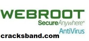 Webroot SecureAnywhere Antivirus 2021 Crack Free Download
