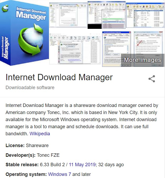 Internet download manager serial key full version