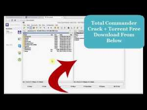 Total Commander 9.12 Crack + Serial Key [For Windows] Free Download