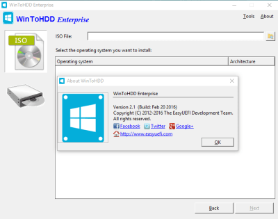 WinToHDD 2.8 Crack