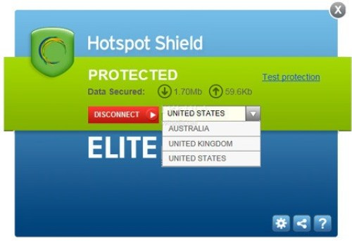 Hotspot Shield VPN Elite 7.5.0 Crack