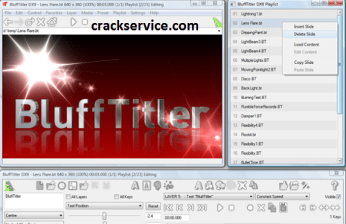 BluffTitler Crack free download