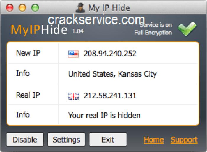 Hide My IP License Key