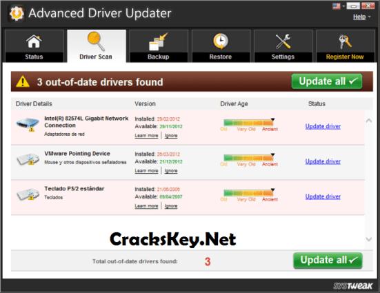 Advanced Driver Updater License Key