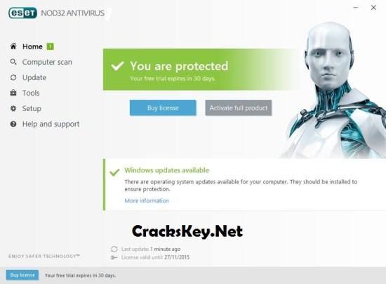ESET NOD32 Antivirus 11 License Key 2020