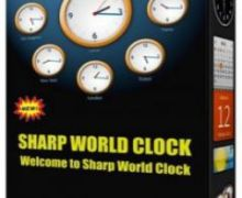 Sharp World Clock 8.44 Crack + License Key Free Download