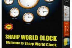 Sharp World Clock 8.44 Crack + License Key Free Download
