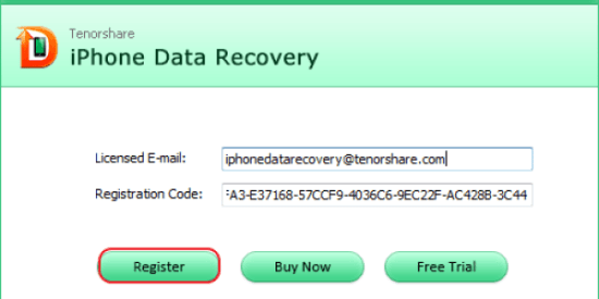 Tenorshare UltData Registration Code