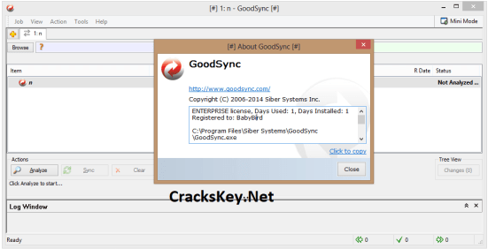 GoodSync Enterprise Server Keygen