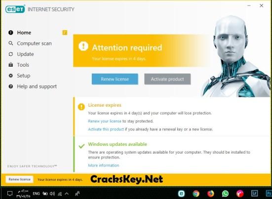 ESET Internet Security Activation Key
