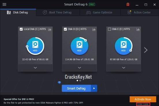 IObit Smart Defrag Pro License Key