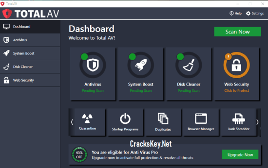 Total AV Antivirus 2019 License Key
