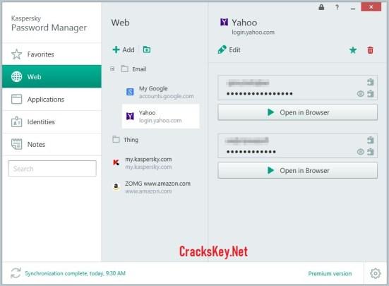 Kaspersky Password Manager 2019 Keygen