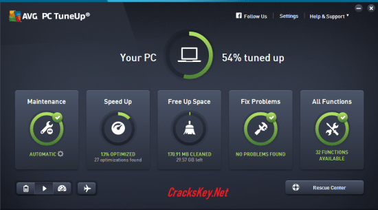 AVG PC TuneUp 2019 Serial Number
