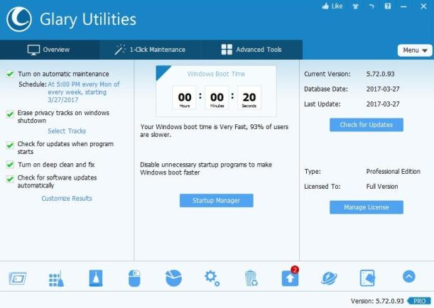 Glary Utilities 5.159.0.185 Crack With Serial Number Free Download 2021