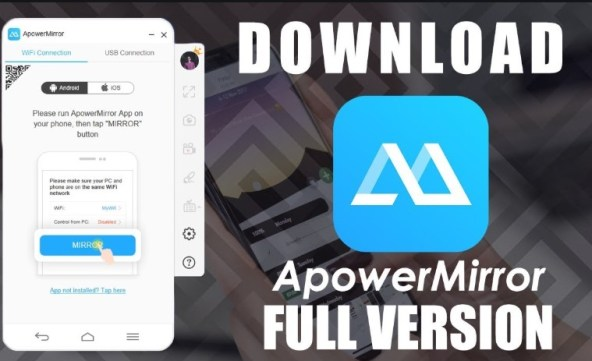 Apowersoft ApowerMirror 1.4.7.2 Full Crack (Latest Version)