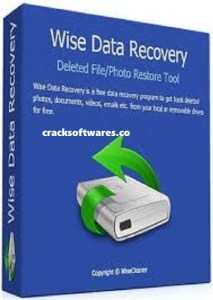 Wise Data Recovery 5.2.1.338 Crack + Serial Key Latest Download 2021