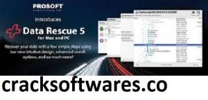 Prosoft Data Rescue Professional 5.0.11 With Crack Latest 2021
