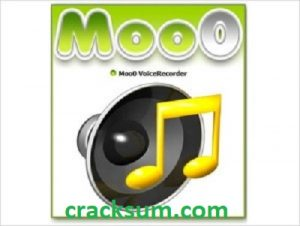 Moo0 Voice Recorder 1.49 Crack Full Version Free Download 2021