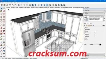 SketchUp Pro 2021 21.0.338 Crack + License Key Free Download 2021
