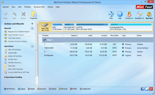 MiniTool Partition Wizard Professional Edition Full