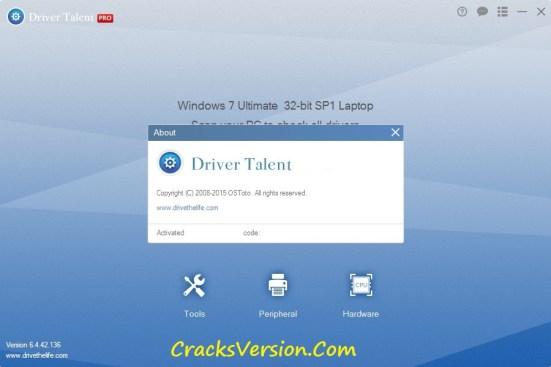 Driver Talent Pro Key Download