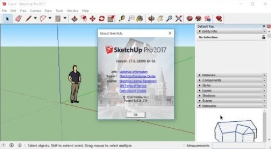 Google SketchUp Pro 2017 Free Download Full Version