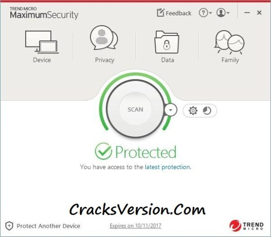 Trend Micro Internet Security 2017 Serial Key