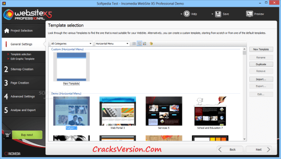 WebSite X5 Professional 13 Crack