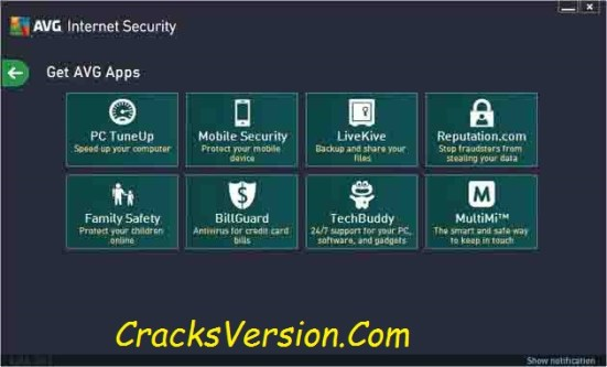 AVG Internet Security 2018 License Key with Crack Download