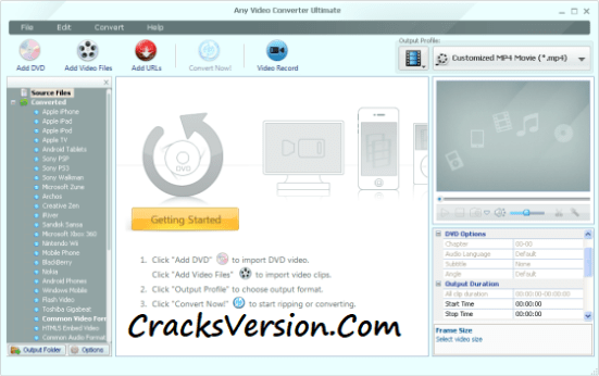 Any Video Converter Portable Crack Full Version Download