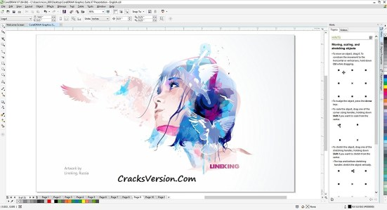 Corel Draw X7 Keygen Crack Full Version Free Download