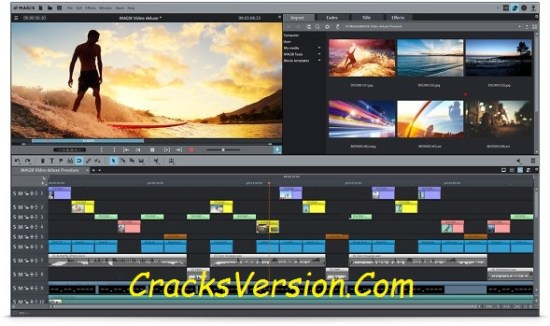 Magix Movie Edit PRO Premium 2018 Crack Keygen Download
