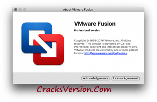 VMware Fusion Pro 10 License Key Plus Keygen Full Crack