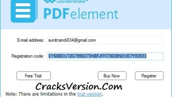 WonderShare PDFelement Pro Free Registration Code