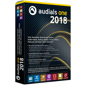Audials One 2018 Crack Keygen Full Version Download