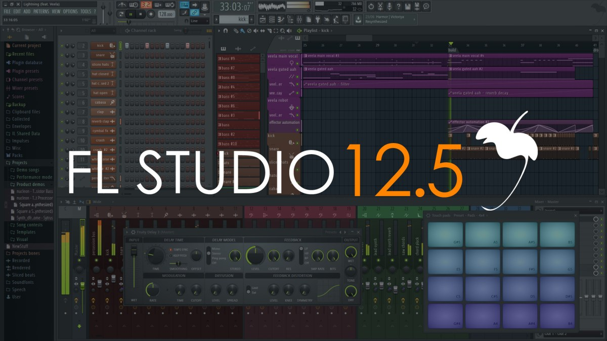 FL Studio 12.5.1.5 Crack Keygen + RegKey Full Free Download