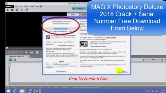 MAGIX Photostory Deluxe Serial Number