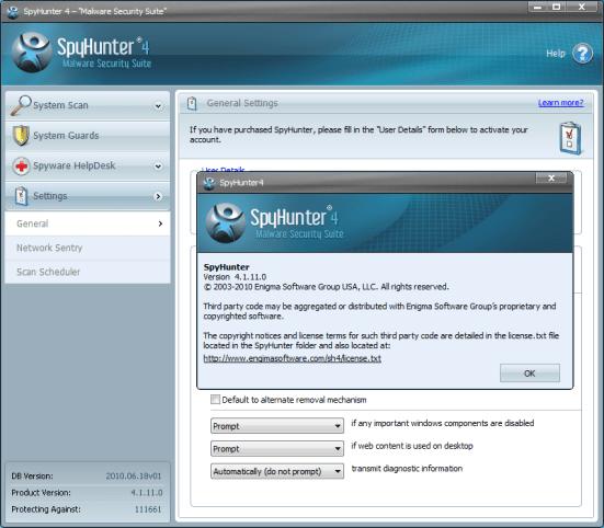 SpyHunter 4 Key
