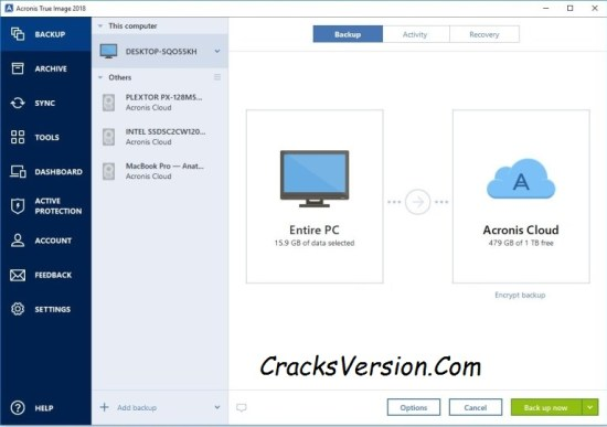 Acronis True Image 2018 Crack + Serial Key Full Download